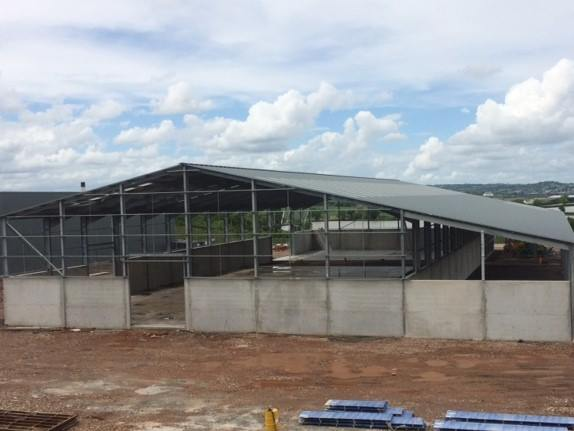 New Waste Transfer Centre is coming along nicely!